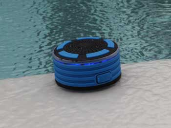 ITRAY MUSIC SYSTEM WITH WATERPROOF SPEAKERS