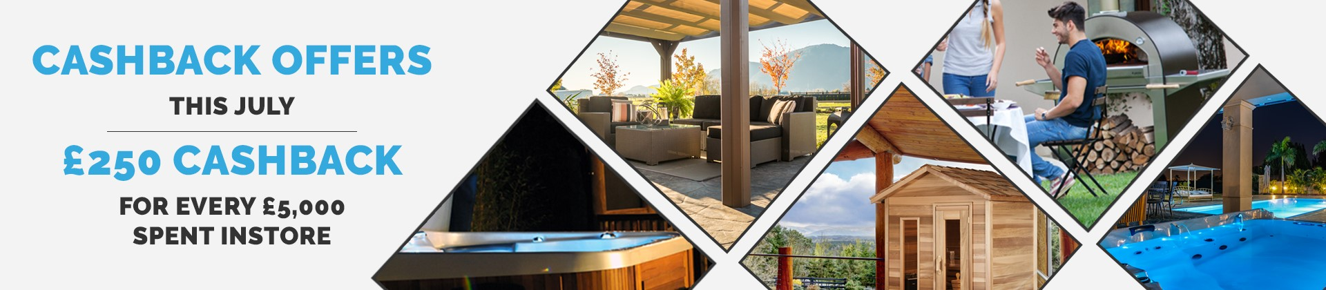 Cashback Offers with Hot Tubs