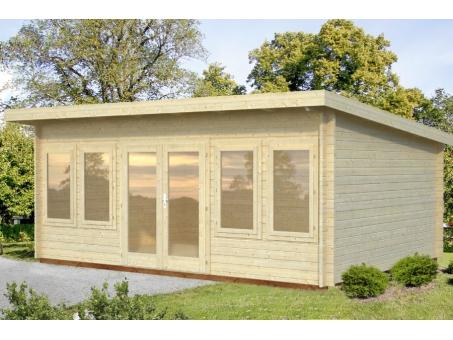 Seattle 44mm Log Cabin