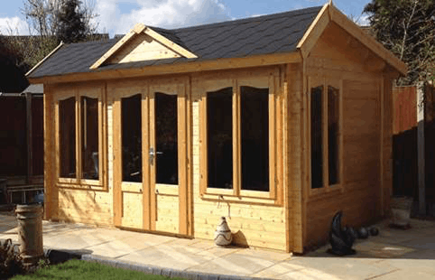 Brookhaven 1 34mm Log Cabin