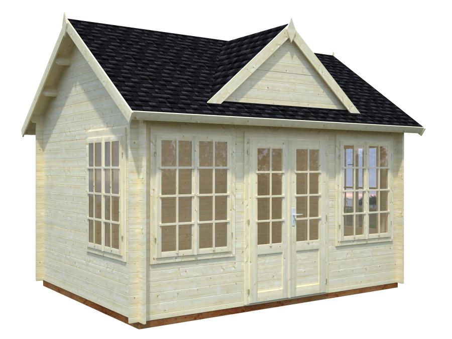 Brookhaven 2 34mm Log Cabin