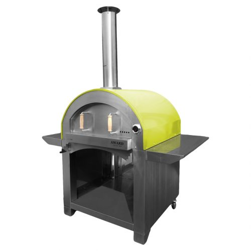 4 Pizze Wood Fired Pizza Oven Green