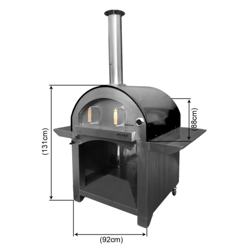 4 Pizze Wood Fired Pizza Oven Offer