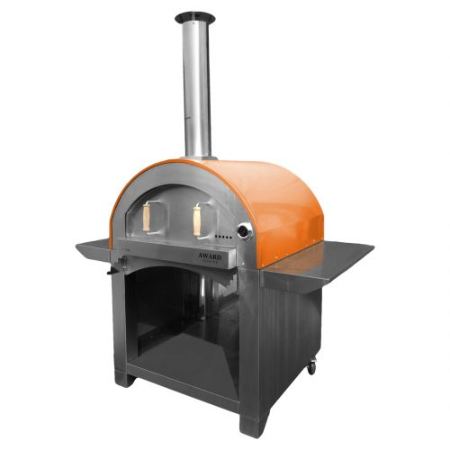 4 Pizze Wood Fired Pizza Oven Orange