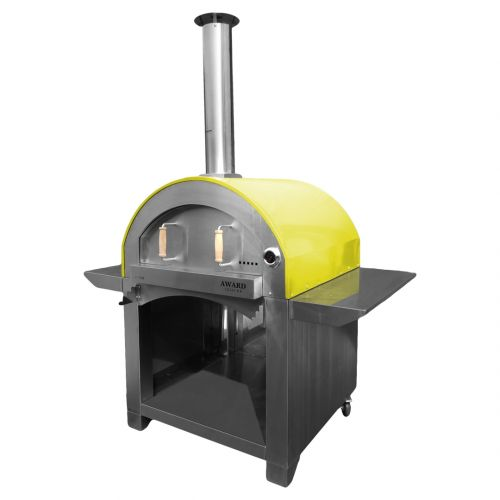 4 Pizze Wood Fired Pizza Oven Yellow