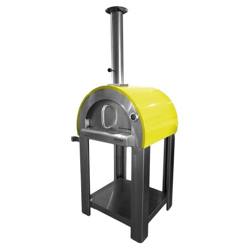 5 Minuti Wood Fired Pizza Oven Yellow