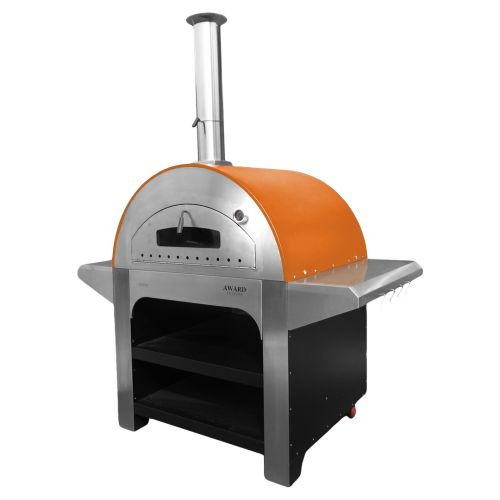 Allegro Wood Fired Pizza Oven Orange