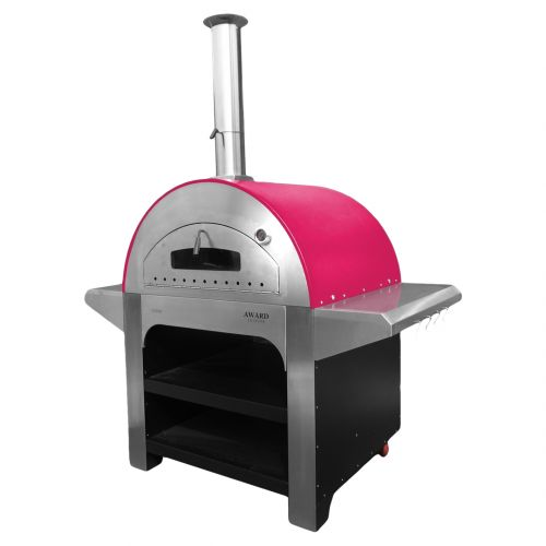 Allegro Wood Fired Pizza Oven Red