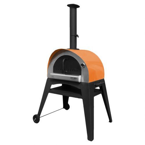 Ciao Wood Fired Pizza Oven Orange
