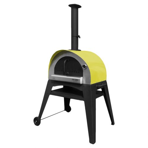 Ciao Wood Fired Pizza Oven Yellow