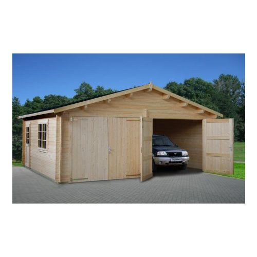 Colorado 2 - With Wooden Gate 44mm Wooden Garage
