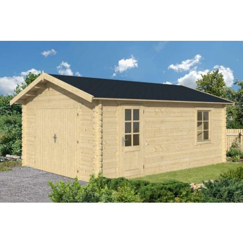 Houston 1 44mm Wooden Garage
