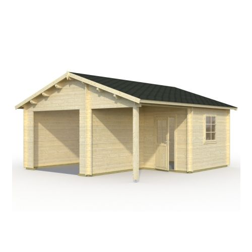 Indiana 1 44mm Wooden Garage