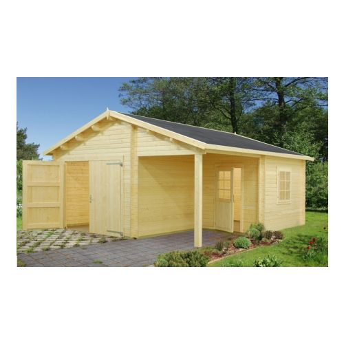 Indiana 2 44mm Wooden Garage