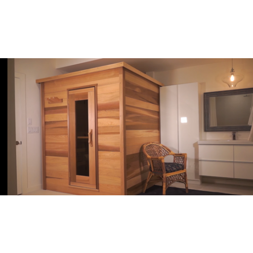 Indoor Cabin Sauna Red Cedar