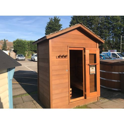 Outdoor Cabin Sauna Red Cedar