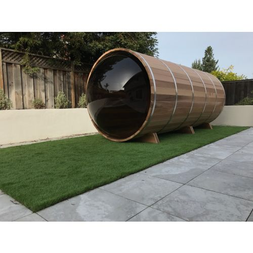 Panoramic Barrel Sauna 213 x 244cm