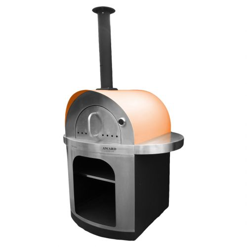 Pizza e Brace Wood Fired Pizza Oven Orange