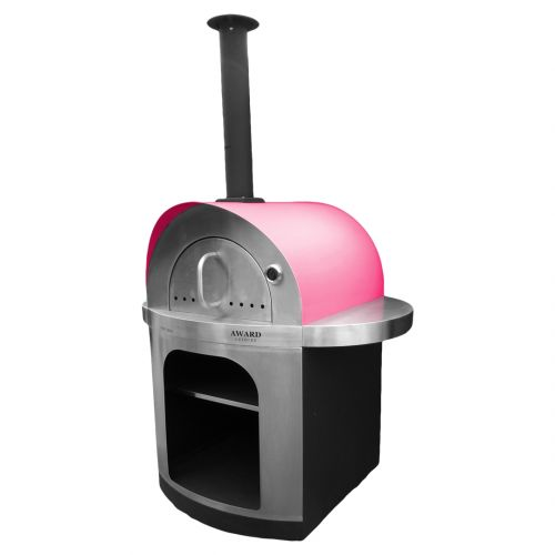 Pizza e Brace Wood Fired Pizza Oven Red
