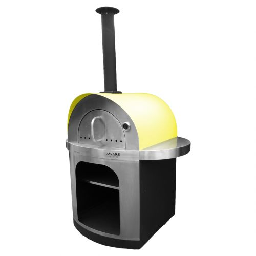 Pizza e Brace Wood Fired Pizza Oven Yellow