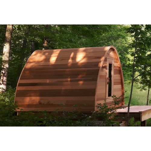 Pre-owned Pod Sauna Red Cedar