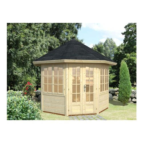 San Diego 1 28mm Log Cabin Summerhouse