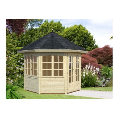 San Diego 2 28mm Log Cabin Summerhouse