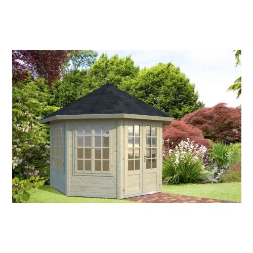 San Diego 3 34mm Log cabin Summerhouse