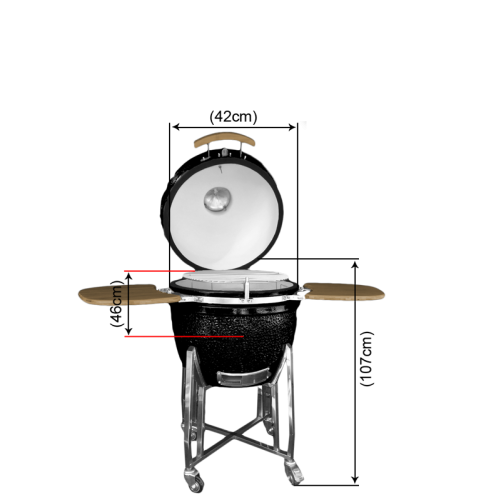 "18"" BBQ Egg Grill Oven"