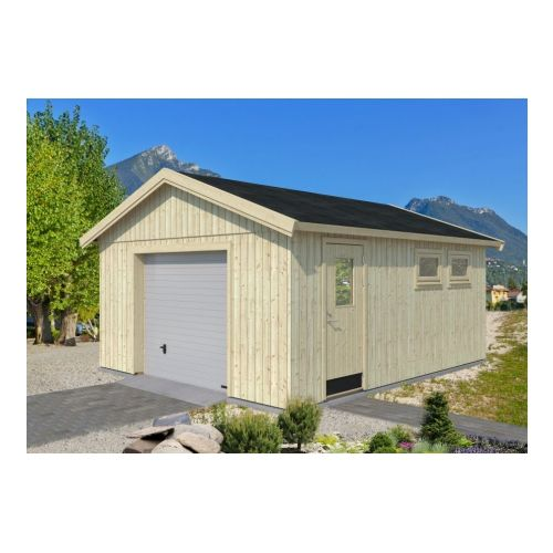 Stockholm 160mm Nordic Cabin Wooden Garage