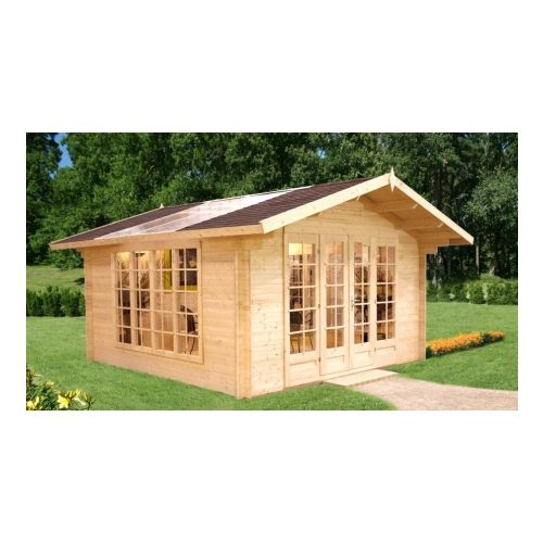 Vermont 34mm Log Cabin Summerhouse