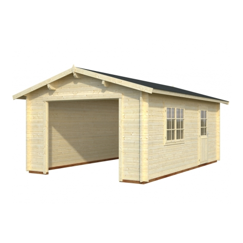 Wisconsin 1 44mm Wooden Garage