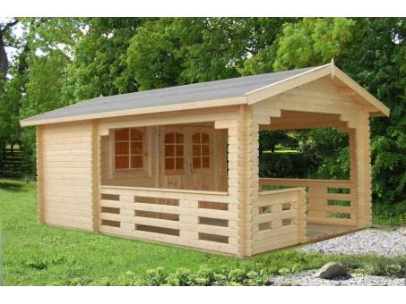 Georgia 44mm Log Cabin