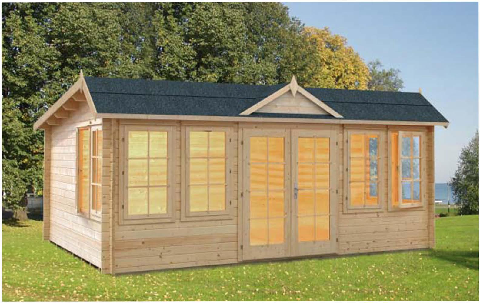 Hamptons 44mm Log Cabin