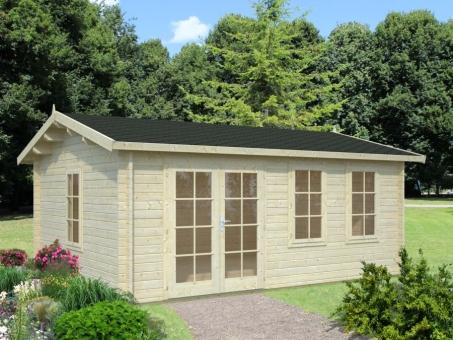 Jefferson 44mm Log Cabin