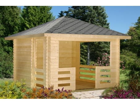 Maryland 28mm Log Cabin Gazebo