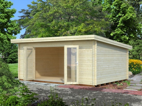 Michigan 4 44mm Log Cabin