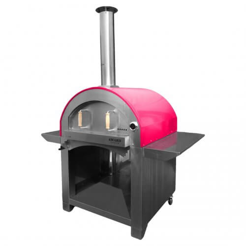 4 Pizze Wood Fired Pizza Oven Red