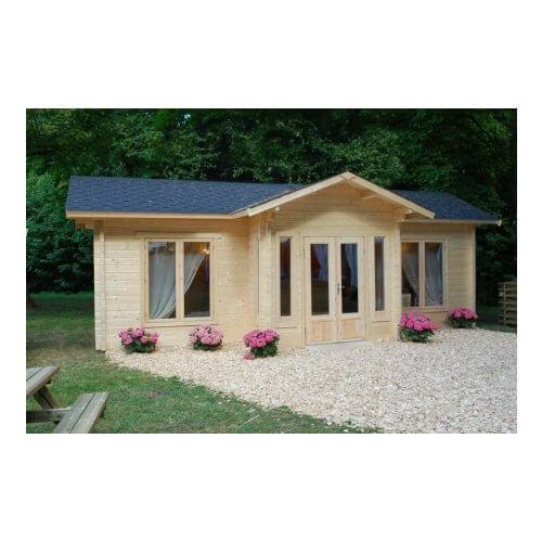 Texas 2 70mm Log Cottage