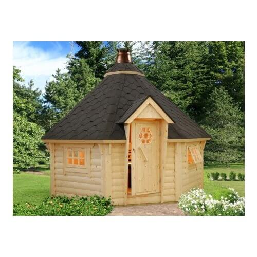 Kodiak Pizza Hut 44mm Log Cottage