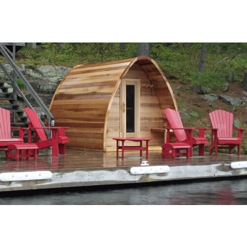 Cedar Pod Cabin 244 x 183cm