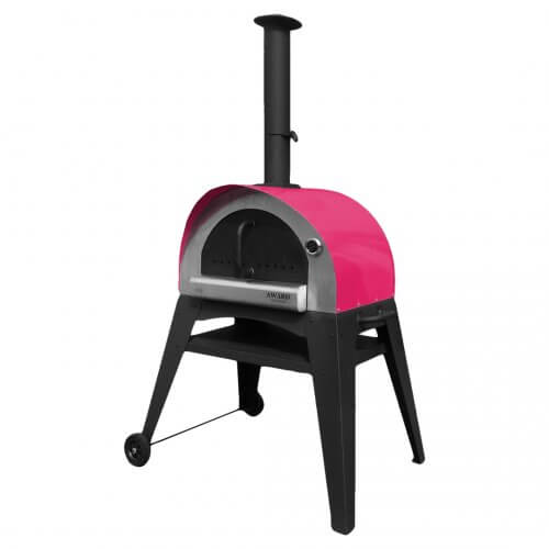Ciao Wood Fired Pizza Oven Red