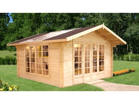 Vermont 34mm Log Cabin Summerhouse