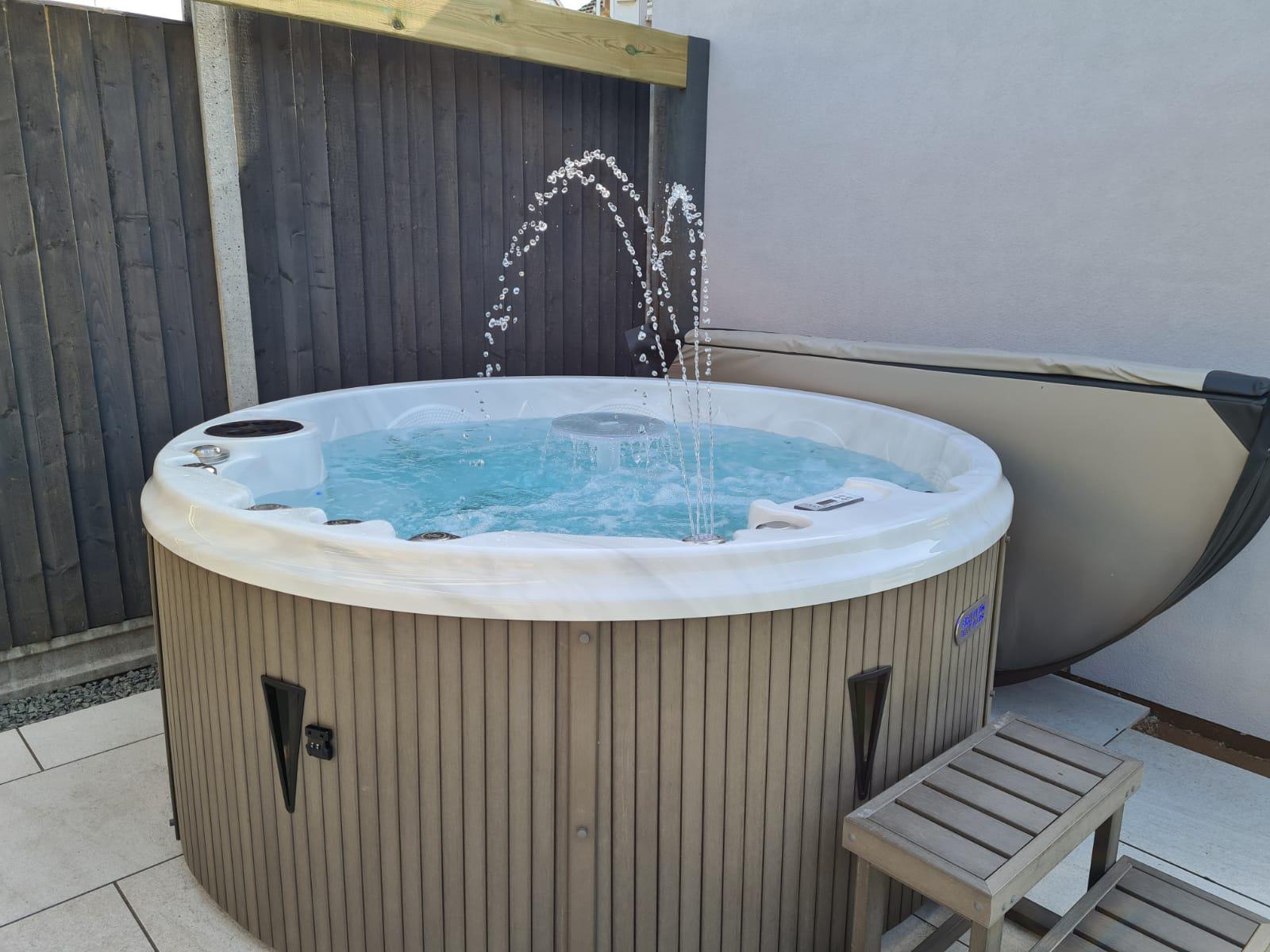 Winston Hot Tub Installation