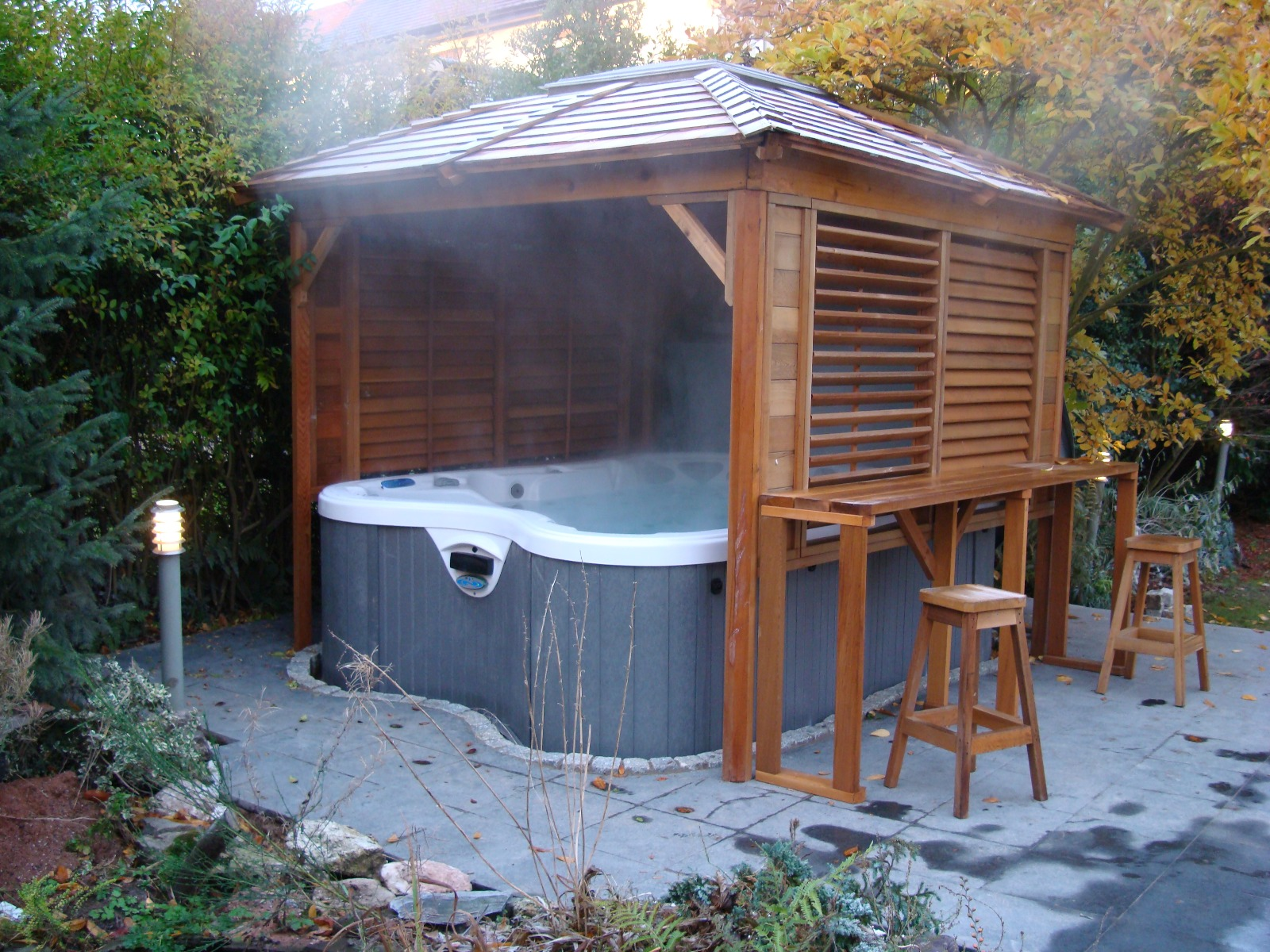 Hot Tub Enclosures at Award Leisure