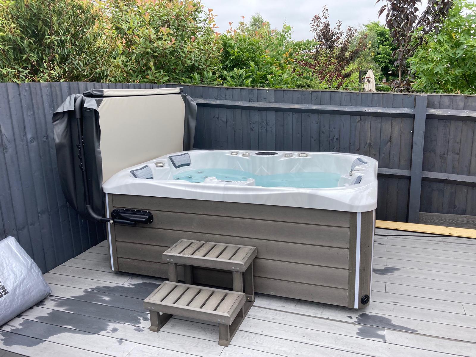 Mercury Hot Tub Installation