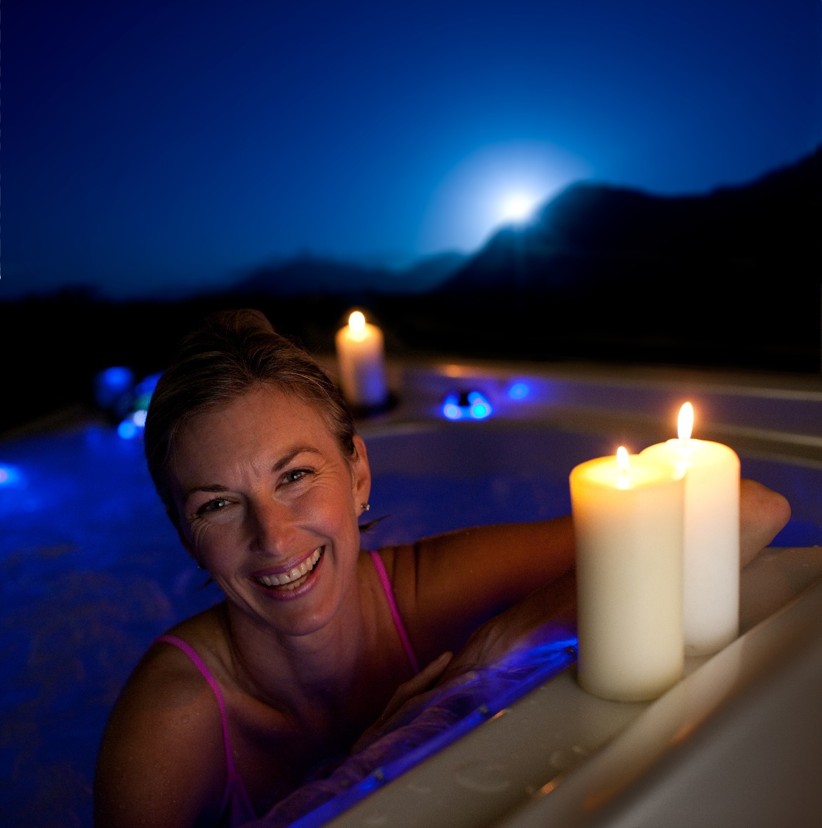 Hot Tubs can help you get a better nights sleep