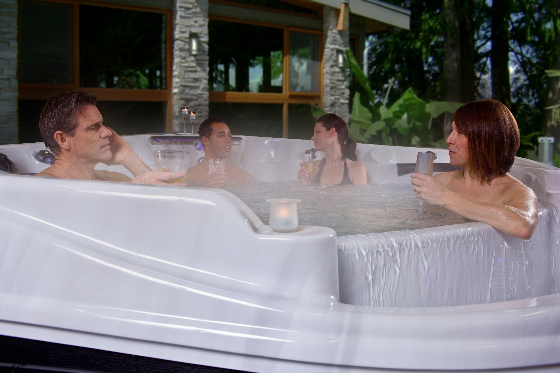 Hot Tubs for Time to Talk Day