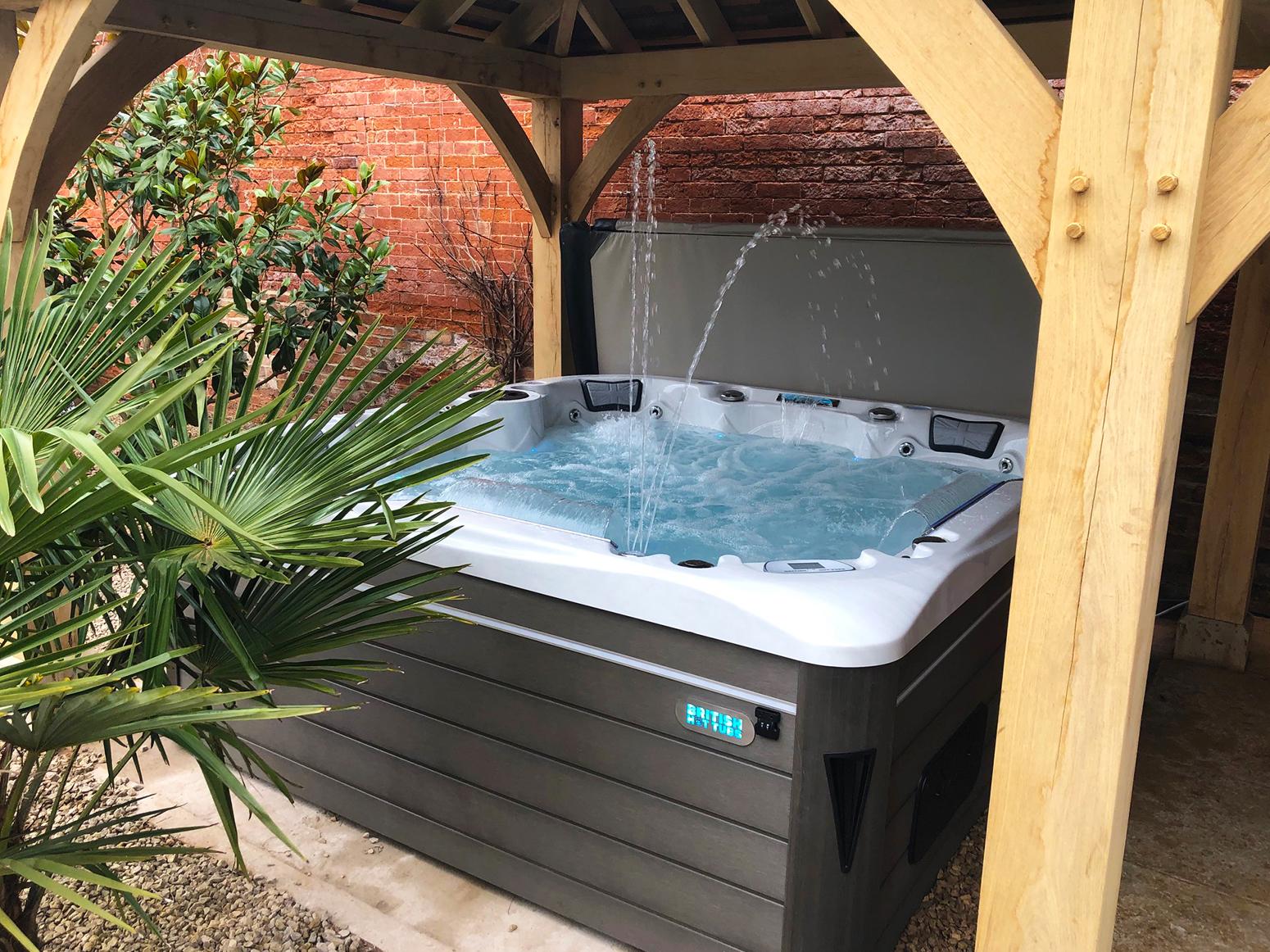 Union Hot Tub Installation