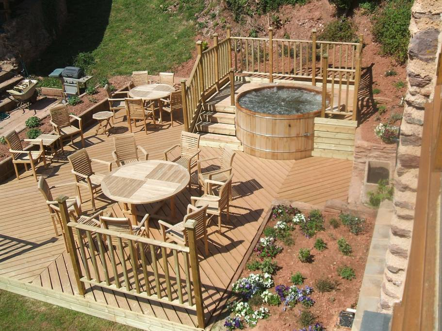 Hot Tub holidays in the Exmoor National Park